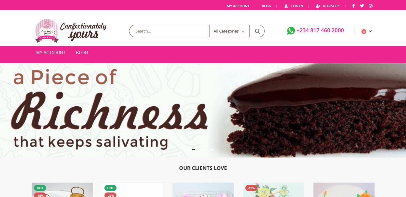 Confectionately Yours Mrs da Silvas Bakery 1