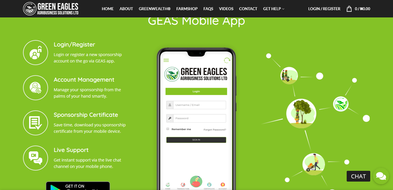 Green Eagles Agribusiness Solutions project by Ritan360 Technologies 2