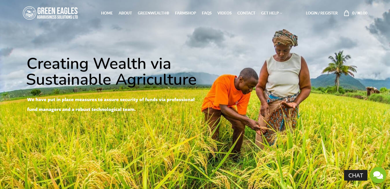 Green Eagles Agribusiness Solutions project by Ritan360 Technologies 4