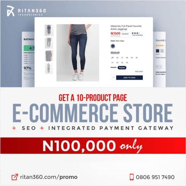Get an eXpress eCommerce website Today